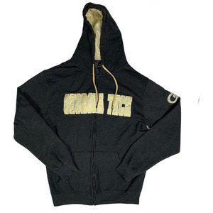 Georgia Tech Yellow Jackets Hoodie Sweatshirt Zip